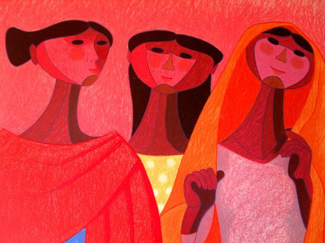 Trinidad Osorio. Tres mujeres