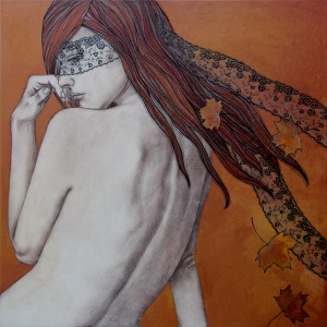painting of women-gouskova-Incognito II 78