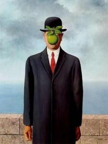 El hijo del hombre. René Magritte (1964)