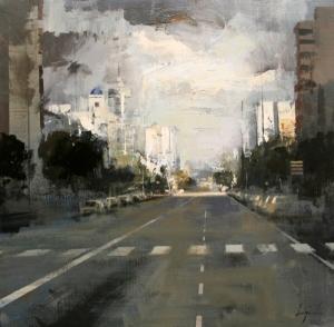 La avenida. Ricardo Durán Urréjola